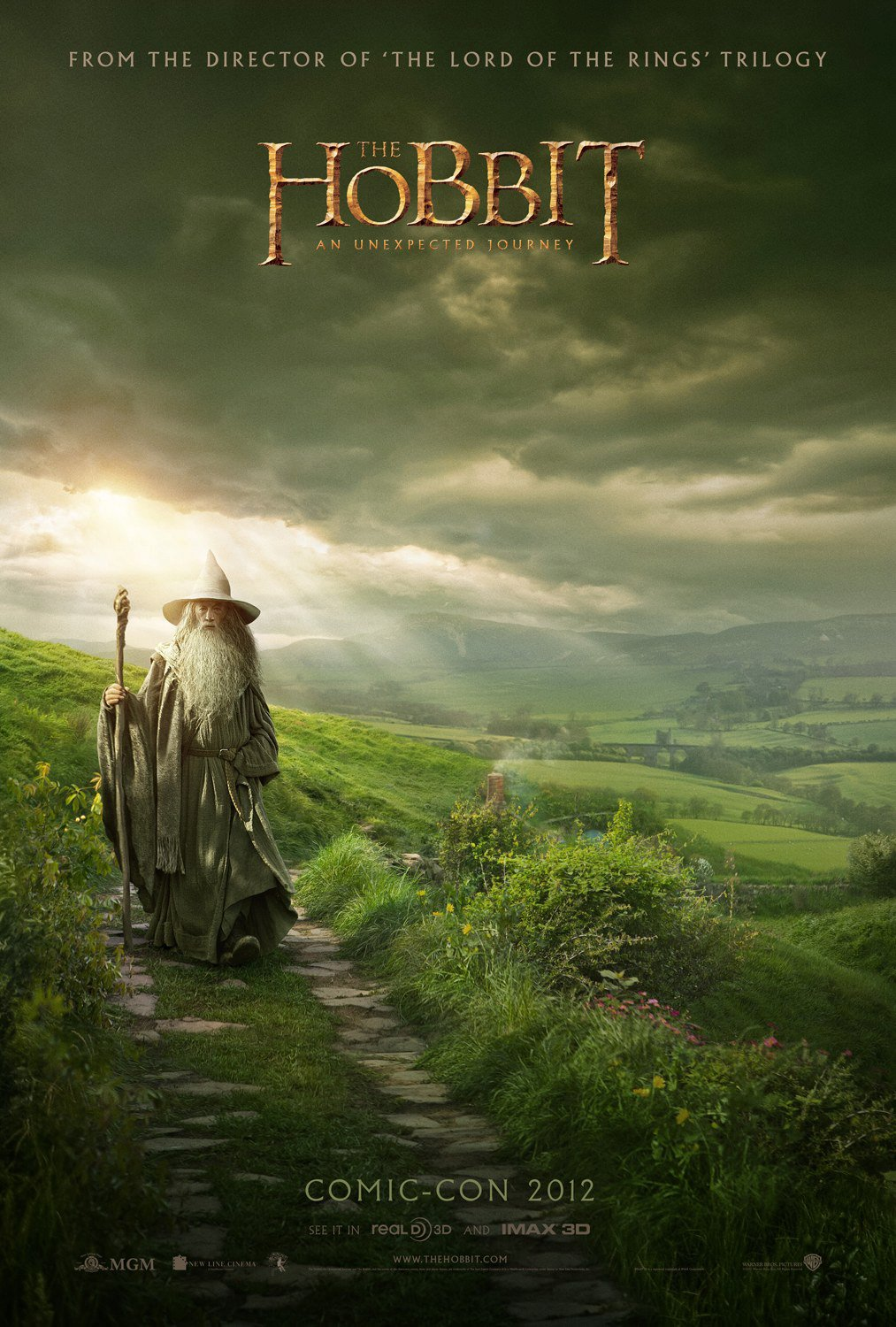 Peter Jackson revela un nuevo pster de El Hobbit en la Comic-Con
